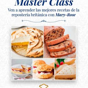 curso de repostería inglesa english bakery con Mary-Rose en Cooking Area