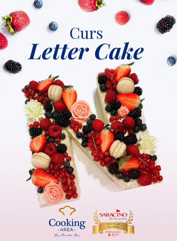 Curs de Letter Cake a Barcelona | Cooking Area