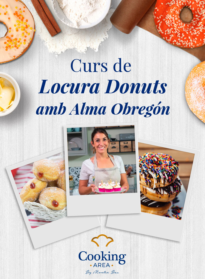 Curs Locura Donuts a Barcelona | Cooking Area