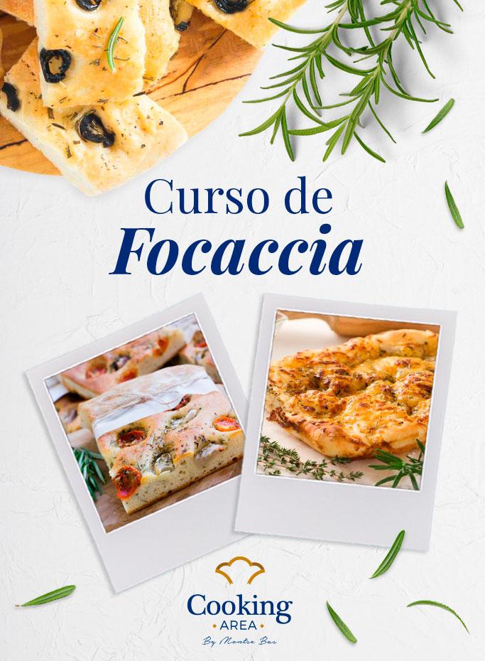 Curso de Focaccia en Barcelona | Cooking Area