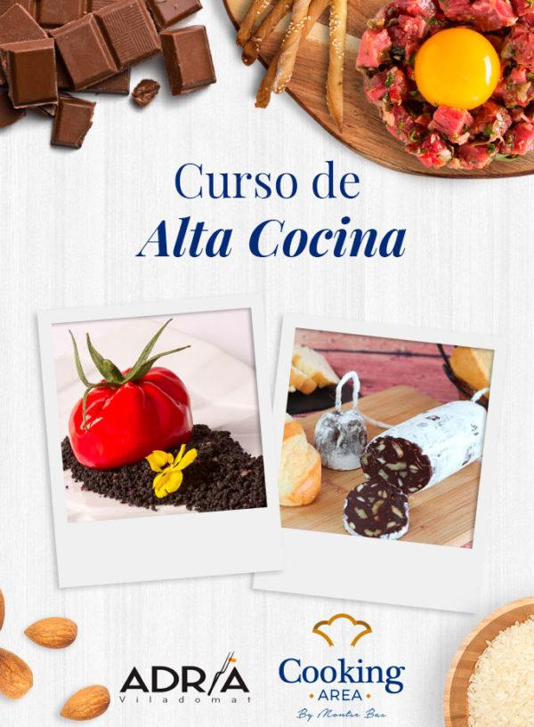 Curso de Alta Cocina en Barcelona Cooking Area