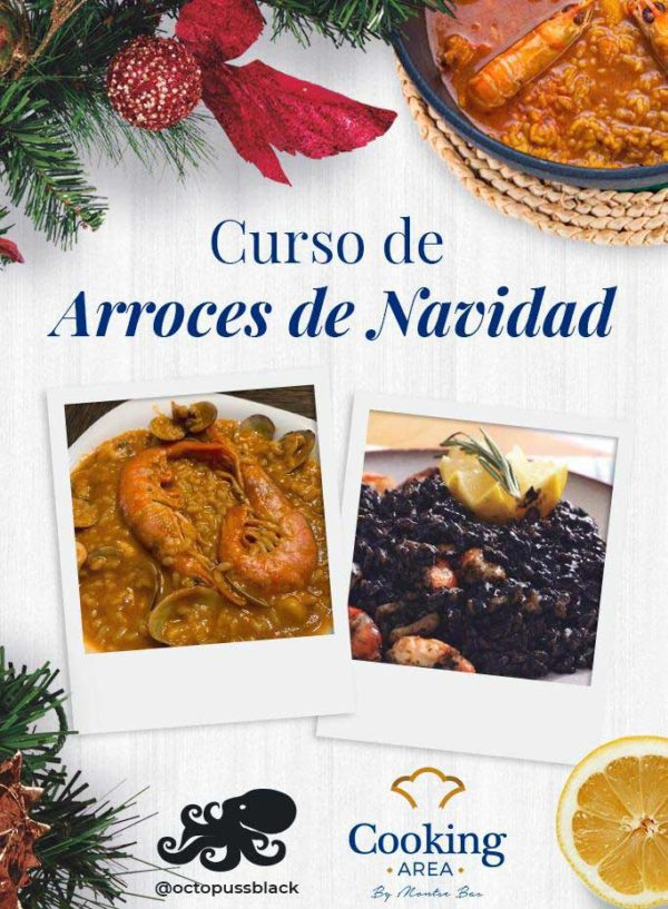 Curso Arroces de Navidad | Cooking Area