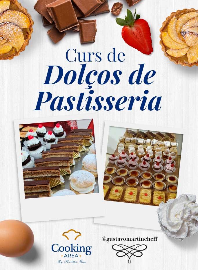 Curs de Dolços de Pastisseria a Barcelona   Cooking Area
