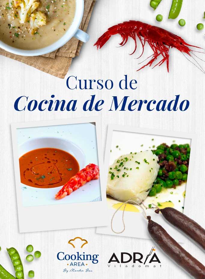 Curso de Cocina de Mercado en Barcelona | Cooking Area
