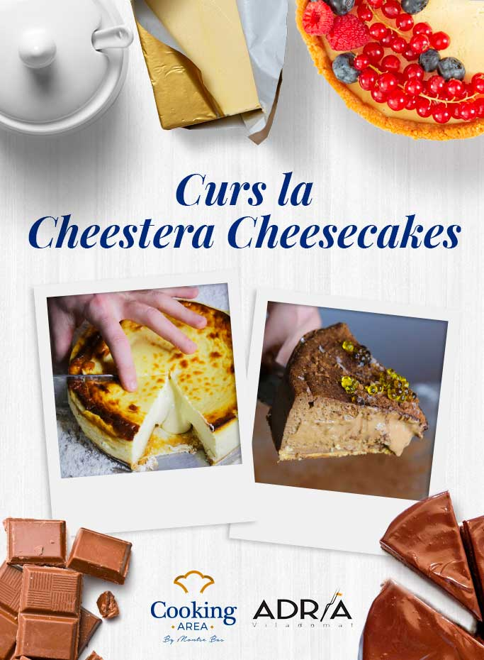 Curs la Cheestera Cheesecakes a Barcelona   Cooking Area
