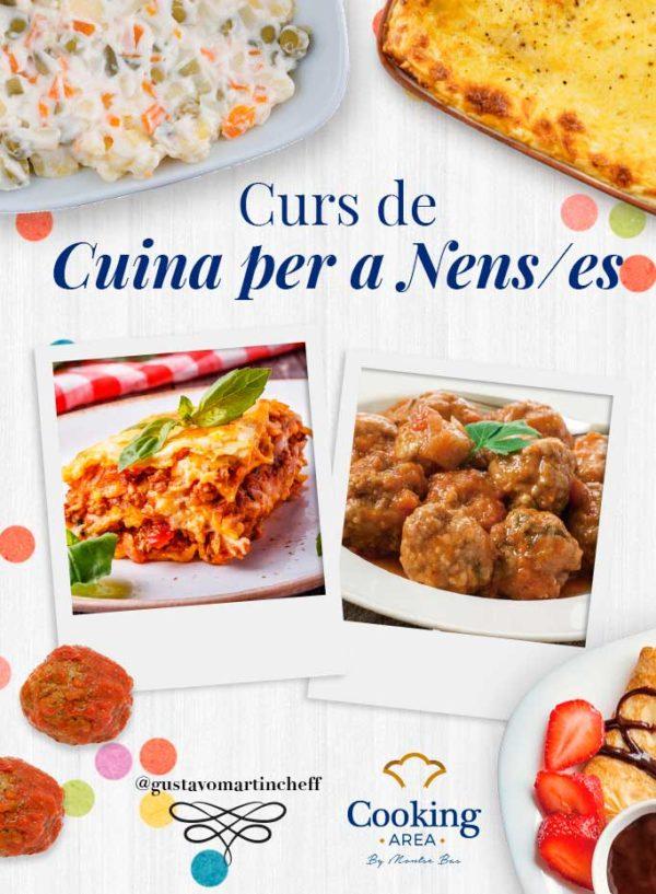 Curs de Cuina per a Nens a Barcelona   Cooking Area